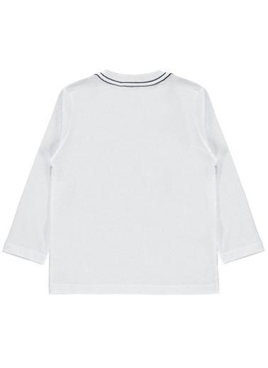 Cvl Erkek Çocuk Sweatshirt  Beyaz